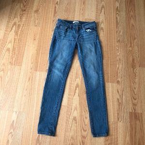 Abercrombie and fitch skinny jeans denim sz:27